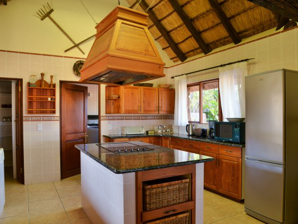 Deluxe 6 sleeper kitchen