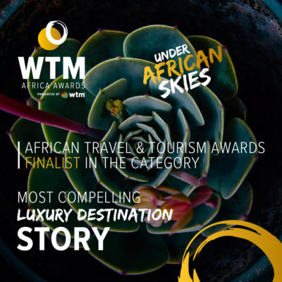 WTM Luxury Destination Award Kololo Safari Welgevonden lodge